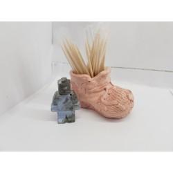 Подставка для зубочисток из бетона Подставка для зубочисток стиль Лофт Подставка для зубочисток минимализм