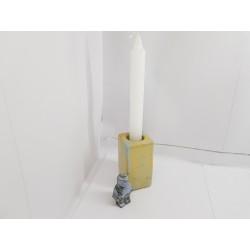 Подсвечник для тонкой свечи Подсвечник минимализм Интерьер Декор Домашний интерьер Подставки под свечи