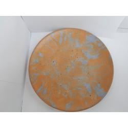 Тарелка Тарелка из бетона Тарелка сделанная вручную Посуда из бетона Ручная работа Тарелка ручной работы Бетон