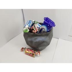 Конфетница Красивые конфетницы Конфетница ручной работы Корнфетница из бетона Ручная работа Бетон Лофт