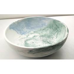 Handmade concrete plate...