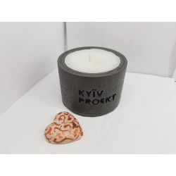 Candles with logo, Handmade...