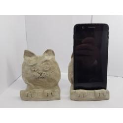 Phone holder Phone holders Phone holder on the table Phone holder on the table Concrete phone holder Desk phone holder
