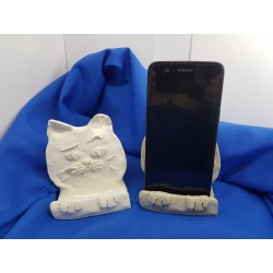 Phone holder Phone holders Phone holder on the table Phone holder on the table Concrete phone holder Desk phone holder