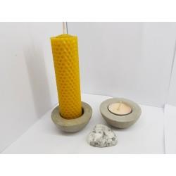 Candlestick Handmade candlestick Concrete candlestick Loft Beautiful candlesticks Exclusive candlesticks