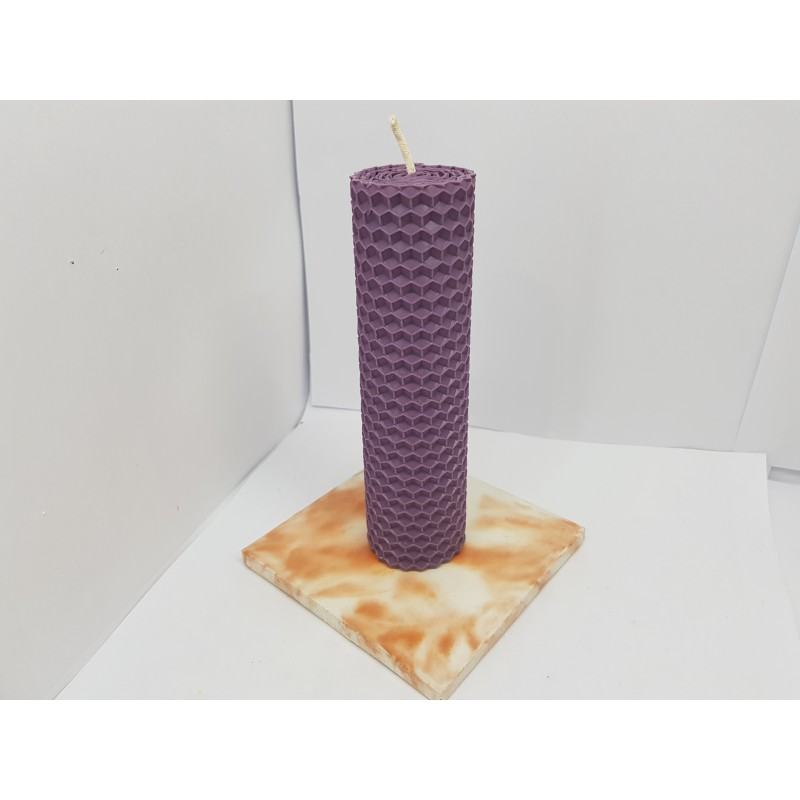 Organic beeswax candles Natural wax candles Candles hand rolled Honeycomb decor 100% pure beeswax Candles eco friendly