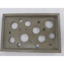 Handmade soap dish from...