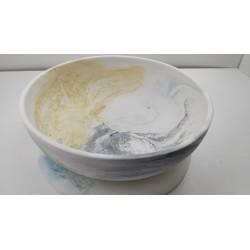 Тарелка Тарелка ручной работы Посуда ручной работы Тарелка из бетона
