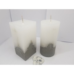 Set of candles Set of decorative candles Set of concrete candles Set of handmade candles Set of exclusive candles