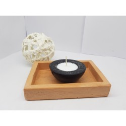 Candlestick for 2 candles Tea candle holder Tea light candle holder Candlestick Handmade candlestick Concrete candlestick
