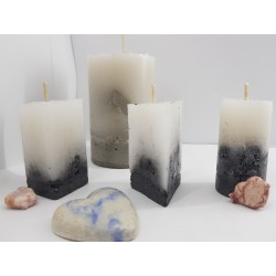 Candles Decorative candles Concrete candles Handmade candles Exclusive candles