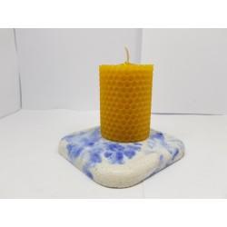 Свечи Набор свечей Набор свечей из вощины Набор свечей вместе с подставками Набор свечей и подставок ручной работы Ручная работа