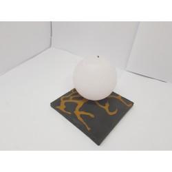 Свечи Свечи декоративные Круглые свечи Свечи ручной работы Интерьерные свечи Свеча шар Ручная работа