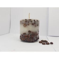 Свечи Свечи кофе Кофейные свечи Свечи ручной работы Свечи с ароматом кофе Свечи с кофейными зернами Интерьерные свечи