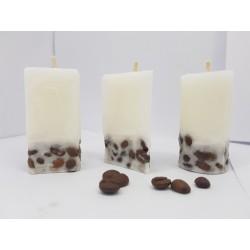 Набор свечей кофе Набор кофейных свечей Набор свечей с ароматом кофе Набор свечей с кофейными зернами Пальмовый воск