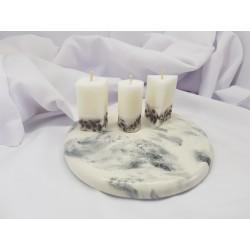 Свечи из пальмового воска Пальмовые свечи Пальмовый воск Свеча из натурального пальмового воска Свечи ручной работы