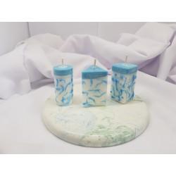 Свечи из пальмового воска Пальмовые свечи Пальмовый воск Свеча из натурального пальмового воска