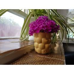 Unusual flower vase Art Nouveau Decor Design Home decor Minimalism Rustic style