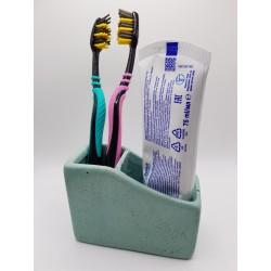 Toothbrush organizer Handmade toothbrush organizer Concrete toothbrush organizer Concrete Handmade