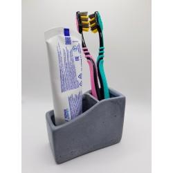 Органайзер для зубных щеток Органайзер для зубных щеток ручной работы Органайзер для зубных щеток из бетона Бетон Ручная работа