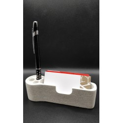 Business card holder Business card holders handmade Business card holder made of concrete Table card holder Handmade Concrete