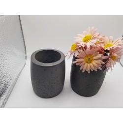 Vase Flower vase Concrete flower vase Handmade Exclusive flower vase Unique flower vase Creative vase Vase Loft Vase