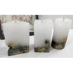 Свечи Свечи декоративные Бетонные свечи  Свечи ручной работы Эксклюзивные свечи