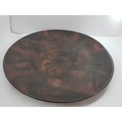 Тарелка Тарелка-поднос Тарелка из бетона Тарелка сделанная вручную Посуда из бетона  Эксклюзивная посуда Эксклюзивная тарелка