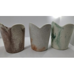 Original pen holders For pens stand Pens stand for pens Office pen stand Concrete pencil holder