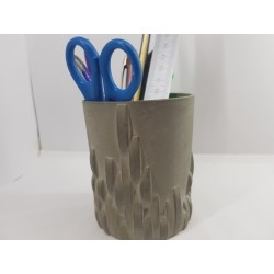 Holder Pencil glass Concrete pencil glass Handmade holder Stand glass Stand glass handmade