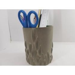 Стакан Стакан для ручек Стакан для ручек ручной работы Стакан из бетона