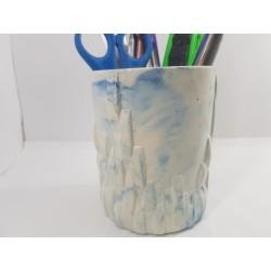 Стакан Подставка стакан Подставка стакан ручной работы Подставка стакан из бетона