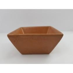 Пиала Пиала для соуса Пиала из бетона Пиала ручной работы Квадратная пиала