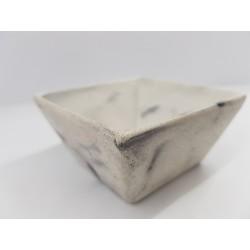 Bowl Bowl for sauce Concrete bowl Handmade bowl Square bowl