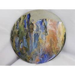 Картина Картина из бетона Панно Панно из бетона Картина из бетона абстракционизм Картина Лофт