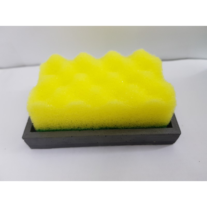 Comfortable And Beautiful Handmade Concrete Sponge And Washcloth Holders Made Of Concrete