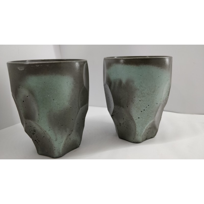 Beautiful glasses for cocktails Tableware Concrete tableware Concrete