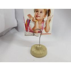 Holder for photos handmade Concrete Photo Clip Stand Desk Accessories Home & Desk Decor