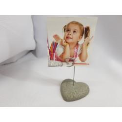 Photo holders Concrete photo holders Handmade Photo holder Stand for photos Stand for photos handmade