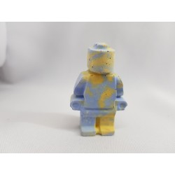 Figurine similar to Lego Concrete man similar to Lego Figurine of a robot similar to Lego Handmade Concrete
