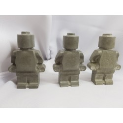 Figures similar to Lego Concrete man similar to Lego Figures of a robot similar to Lego Handmade Concrete