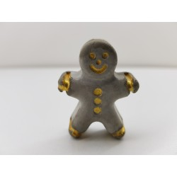 Gingerbread man Concrete Concrete gingerbread man Gingerbread man figures Handmade