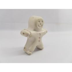 Пряничный человечек Бетон Бетонный пряничный человечек Фигурка пряничного человечка Ручная работа