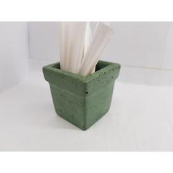 Minimalist Concrete Toothpick Holder Concrete Matchstick Stand