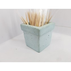 Decor Home decor Cafe decor Handmade Concrete Handmade Toothpick Dispenser