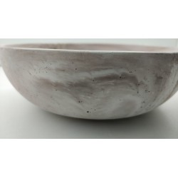 Тарелка Тарелка из бетона Тарелка сделанная вручную Посуда из бетона