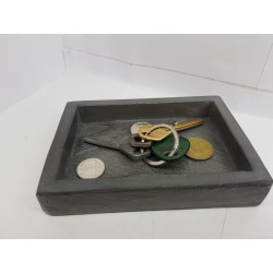 Tray key Concrete tray key Handmade tray key  Exclusive tray key Tray key loft style Creative tray key Best tray key