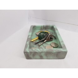 Fancy tray key Modern Decor Design Home decor Concrete tray Tray key dish Concrete plate