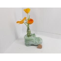 Vase Flower vase Concrete flower vase Handmade Exclusive flower vase