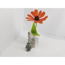 Unusual flower vase Art Nouveau Decor Design Home decor Minimalism Rustic style Loft Industrial style